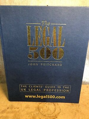 The Legal 500 John Pritchard Clients Guide to UK legal Profession 2014