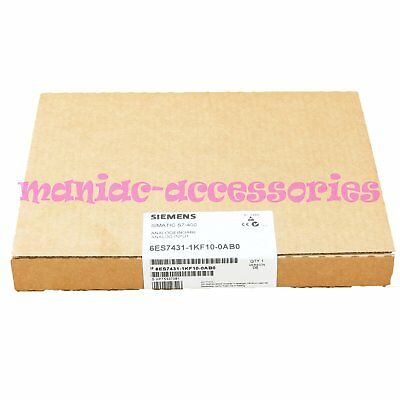 1PC NEW IN BOX Siemens 6ES7 431-1KF10-0AB0 6ES7431-1KF10-0AB0 1 year warranty