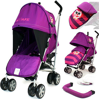 iSafe Owl & Button Stroller Baby Toddler Buggy Pram Pushchair - Limited Edition