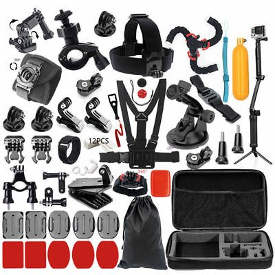 Accessory Kit Action Camera for GoPro Hero Xiaomi Yi 4K SJCAM SJ5000 SJ7 Eken H9
