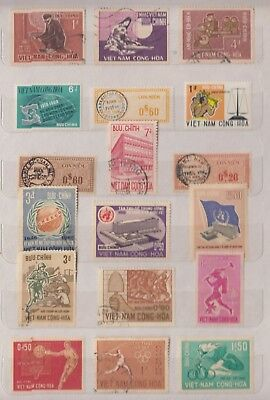 VIETNAM Early Collection MNH/M/FU Good Lot (g)