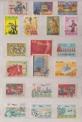 VIETNAM Early Collection MNH/M/FU Good Lot (d)