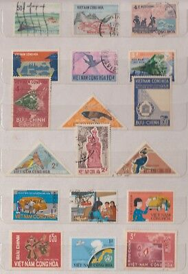VIETNAM Early Collection MNH/M/FU Good Lot (f)