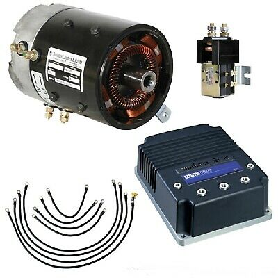 Club Car Ds Precedent Golf Cart Speed Torque Motor Controllo Conversione Sistema