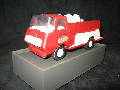 Vintage Tonka, Small Pumper Fire Truck Red & White Mini Tonka USA From The 70's