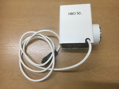 Carl Zeiss Fluorescence 50 HBO Lamp Housing Assembly