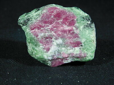A 100% Natural Red RUBY Crystal In a Green Zoisite Matrix! Tanzania 65.9gr e