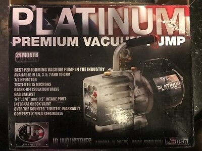 JB INDUSTRIES DV-200N 7 CFM 2 Stage Platinum Vacuum Pump