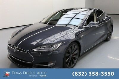 2014 Tesla Model S P85 4dr Liftback Texas Direct Auto 2014 P85 4dr Liftback Used Automatic RWD