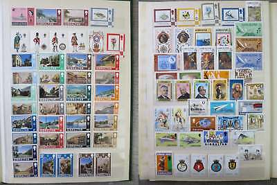 GIBRALTAR  NICE NEAT COLLECTION MNH** all different incl cpl sets /ch996