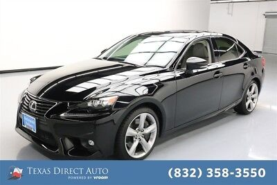 2015 Lexus IS  Texas Direct Auto 2015 Used 3.5L V6 24V Automatic RWD Sedan Premium Moonroof