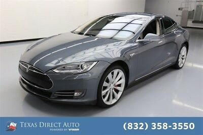 2014 Tesla Model S P85 4dr Liftback Texas Direct Auto 2014 P85 4dr Liftback Used Automatic RWD Premium