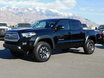 2016 Toyota Tacoma TRD TACOMA CREW CAB TRD SPORT OFF ROAD 4X4 V6 NAVIGATION SUNROOF AUTO TOW PACKAGE