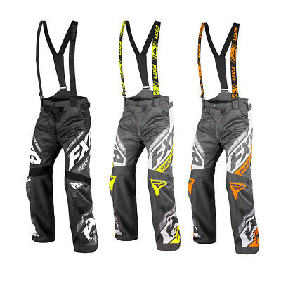 FXR RRX Pants Zonal Insulated Shell Dry Vent Thermal 4-way Stretch Adjustable