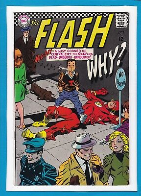 """The Flash #171_June 1967_Fine Minus_Doctor Light_""""dead And Unburied""""_Silver Age!"""