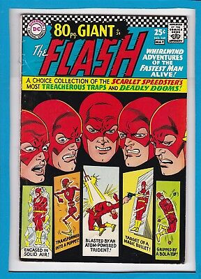 THE FLASH #169_MAY 1967_FINE_ORIGIN & 1st APP OF THE TOP_SILVER AGE GIANT_G-34!