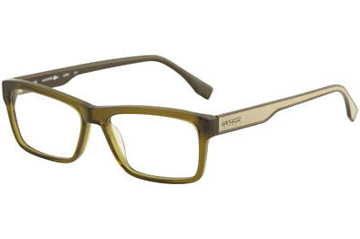 4bb5ba75210c Lacoste Eyeglasses L2721 L 2721 210 Olive Brown Full Rim Optical Frame 53mm