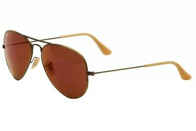 1c6bfe64d8 Ray Ban RB3025 3025 167 2K Bronze Red Mirror Lens Aviator RayBan Sunglasses  58mm