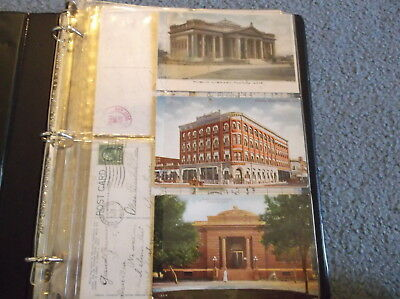 Arizona Postcard Collection In Album, Early 1900's On, Territorial Pm Included