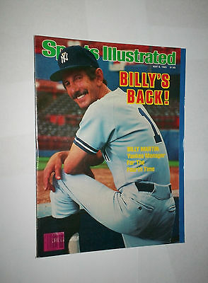 1985 NO LABEL ! Sports Illustrated BILLY MARTIN New York YANKEES ! NICE !