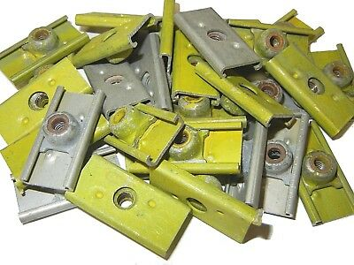 25 Locking 10-32 Plate Nuts Aircraft Lock Plates Self Nut