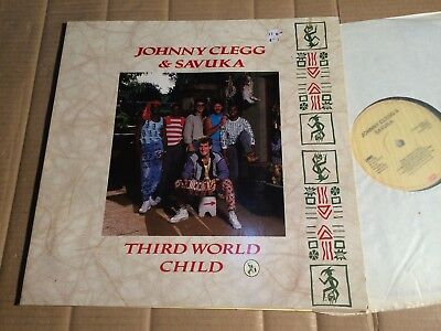 Johnny Clegg & Savuka - Third World Child - Lp - Europe 1987