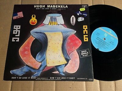 "Hugh Masekela - Don't Go Lose It Baby - 3-Track-12""-Maxi Single - Germany 1984"