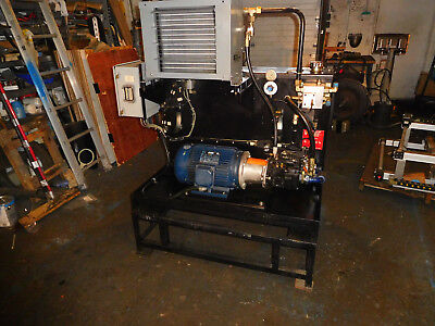 Parker  10 HP 15 GPM Hydraulic Power Unit PVP3336RHP20 CW