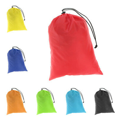 Waterproof Drawstring Storage Bag Pouch Stuff Sack for Clothes Shoes Towels