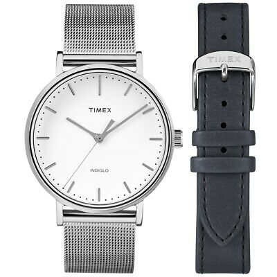 Timex TWG016700 Ladies Fairfield Watch and Strap Gift Set