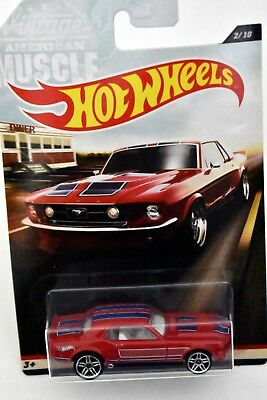 Hot Wheels 1967 Ford Mustang Coupe 2017 Vintage American Muscle