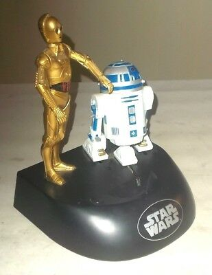 ThinkWay 1995 Star Wars Electronic Coin Bank- R2D2 - C3PO for parts