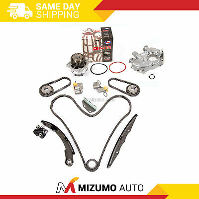 Timing Chain Kit Water Oil Pump Fit Nissan Frontier Pathfinder Xterra VQ40DE