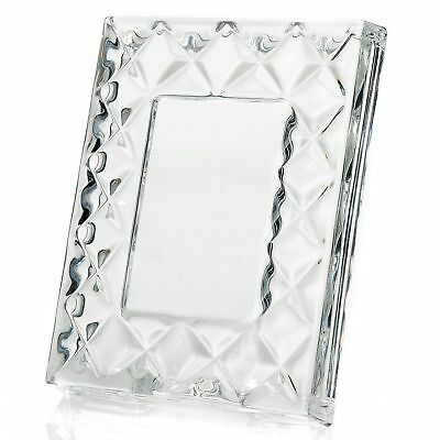 """Marquis by Waterford Collectibles 4"""" Small Crystal Picture Frame"""
