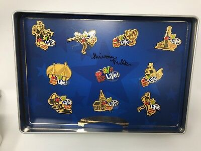 2007 Ebay Live Boston Gold Pin Collection Autographed by Shivonne Miller 90/200