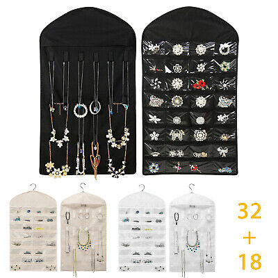 Jewelry Cabinet Armoire Necklace Chest Stand Organizer Display Box Case Storage