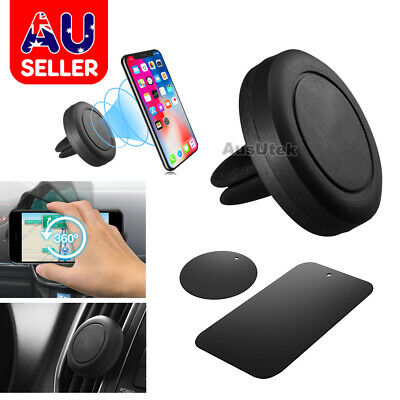 Auto Car Holder Mini Air Vent Mount Magnet Magnetic Phone Stand Universal