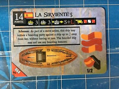 Pirates of the Mysterious Islands - La Sirviente 064