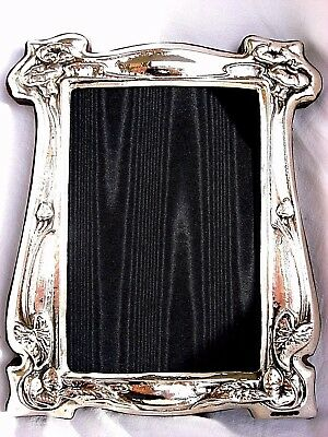 Large Beautiful Finest Quality 999 Hallmarked Silver London Britannia Photoframe