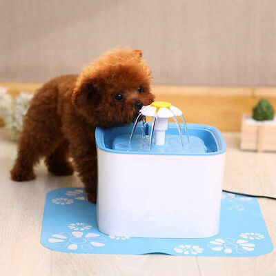2.5L Pet Water Automatic Water Drinking Bowl Fountain Dish Dispenser For Cat Dog