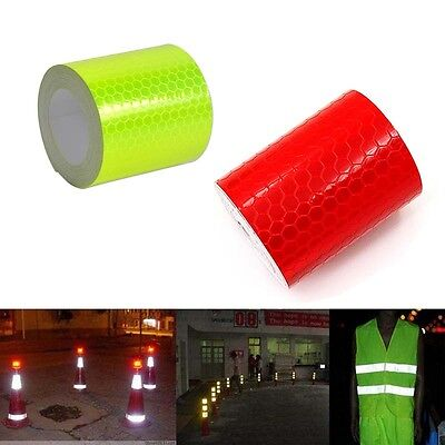 Safety Reflective Warning Conspicuity Films Sticker Strip Self Adhesive tape