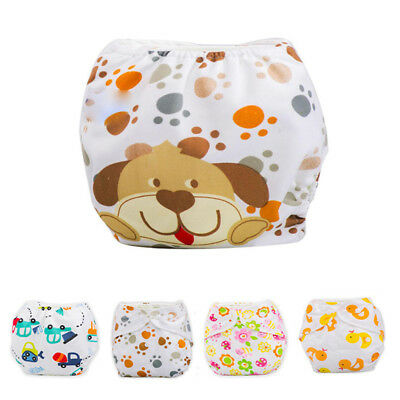 Swim Nappy Diaper Leakproof Reusable Adjustable Baby Infant.Boy Toddle Girl A9L3
