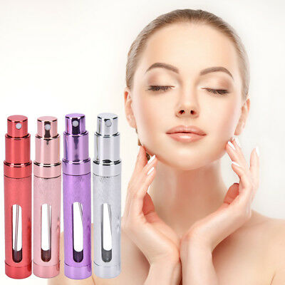12ml Refillable Perfume Window Atomiser Travel Spray Bottle High Quality D0X7