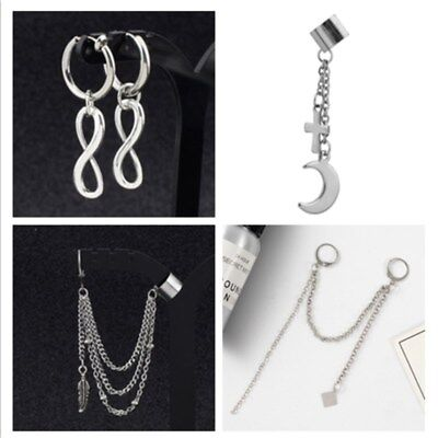 Kpop BTS Bangtan Boys JUNGKOOK J-HOPE V Earring Ear Clip Fashion Jewelry Unisex