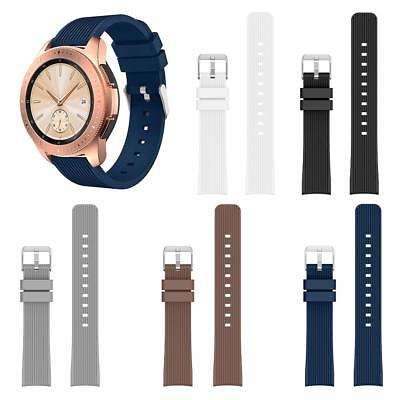 Silicone 20mm Watch Band Bracelet Wrist Strap Replacemnt for Samsung Galaxy