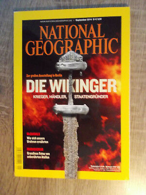 National Geographic, Heft-Nr. Sept.2014, Die Wikinger