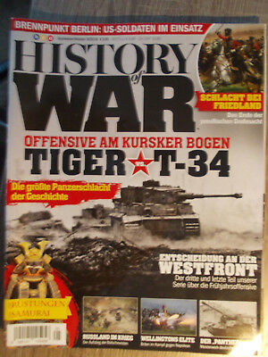 History of War, Heft-Nr. 5/2018, Tiger vs. T-34