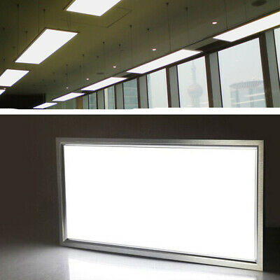 4x 72W LED Square Recessed Ceiling Panel Down Lights Ultra-slim Lamp 1200 x 600
