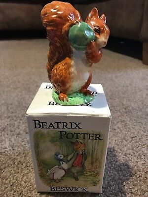 Beswick Beatrix Potter Figure Squirrel Nutkin