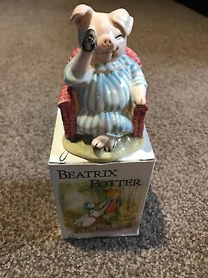 Beswick Beatrix Potter Figures Little Pig Robinson Spying